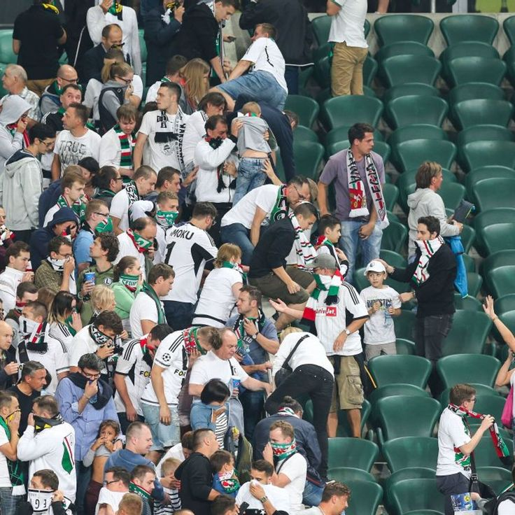 Legia Warsaw handed full stadium closure for Real clash, announce appeal