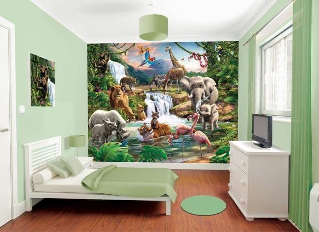Kinderbehang Jungle Avontuur. Kids Bedroom DesignsKids Room DesignBedroom  IdeasBedroom In A BoxBed ...