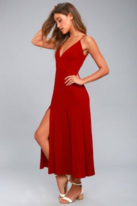 ced1f13afee Time to Tango Red Midi Dress