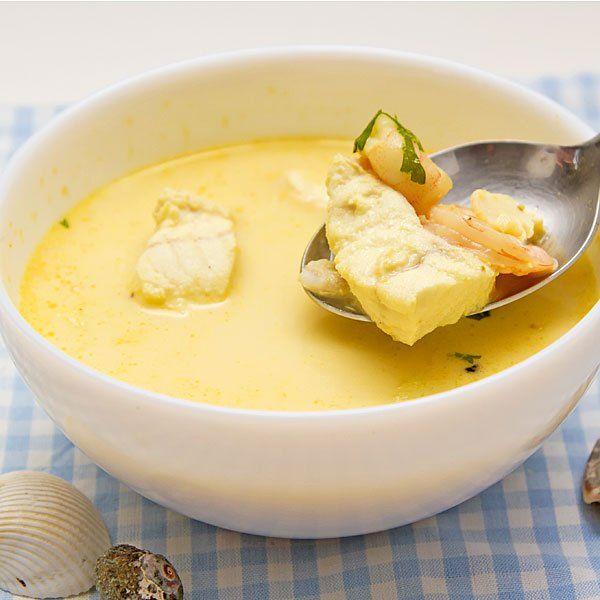 Sopa de pescado sencilla para niños - Dieta blanda