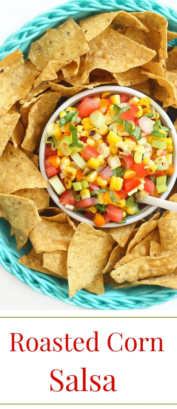 Switch up you salsa with some roasted corn and basil. This will be a popular…
