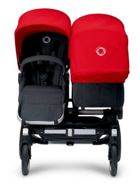 """Bugaboo Donkey - $1500 // Can face both directions, air filled tires, 7.4 gallon under basket, can use bassinets or 2 car seats with converter, 33.4 pounds with 2 seats, max 37.5 pounds for each seat, 29"""" wide."""