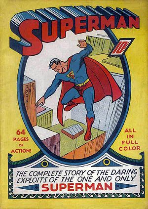 Superman #1, June 1939.
