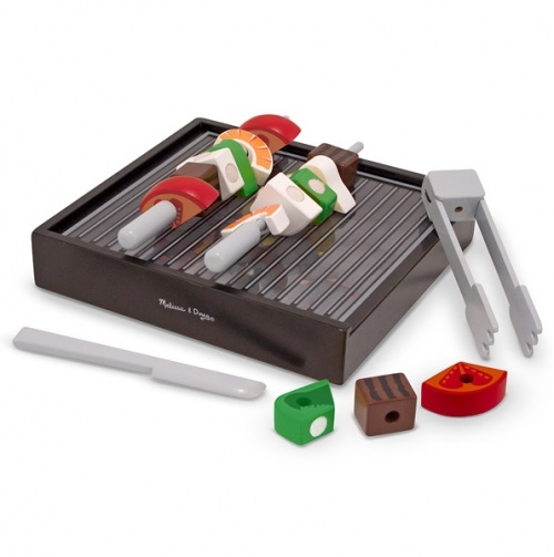 Grill, Slice and Sort Playset - Melissa & Doug Pretend Play.... I absolutely love Melissa and Doug play sets
