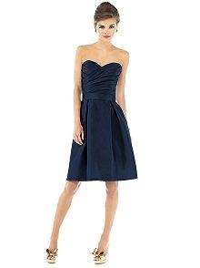 bridesmaid dress: Sung Style, Navy Bridesmaid, Style D536