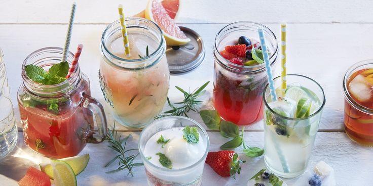 Boodschappen - Grapefruitsap met rozemarijnsiroop