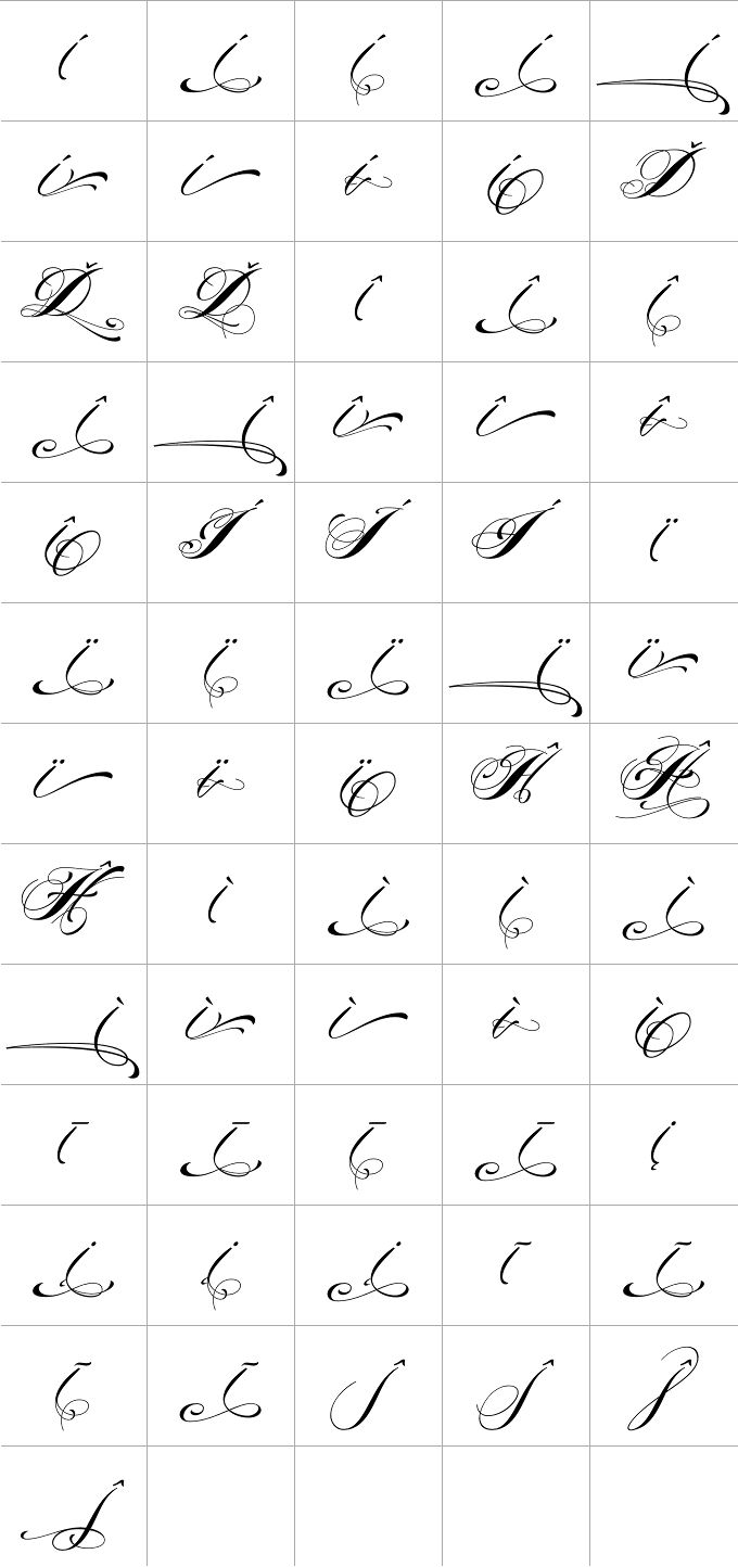 cursive letters sheets 15 best images about fonts on of 6260