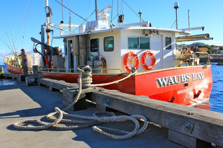 Waubs Bay Boat Bicheno Tasmania - prints and downloads available