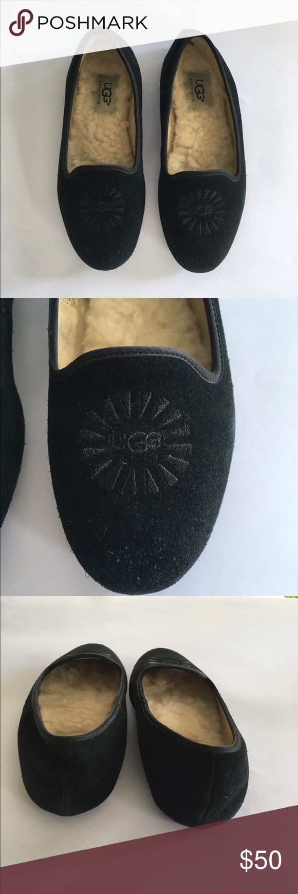 UGG Australia Girls Kids Loafers Shoes Moccasin 2 These are in good used condition. It's super cute for every day where. girls size 2. Bundle discount below UGG Shoes Moccasins