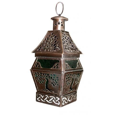 Tree of Life Copper Lantern - The Hippie House