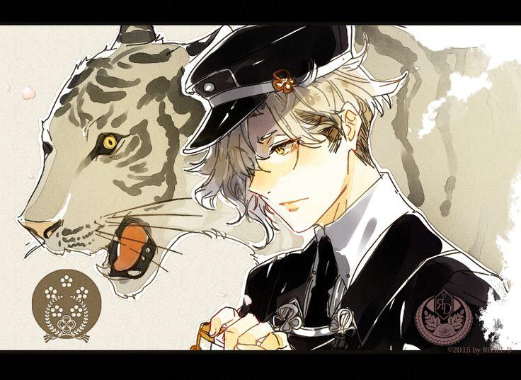 Tiger and Tantou by ROSEL-D.deviantart.com on @DeviantArt