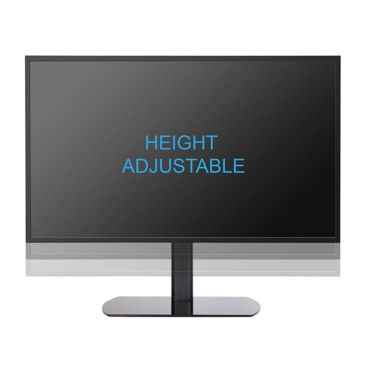 TV Stands For Flat Screens Adjustable Wall Mount Up To 65 Inches Television NICE #Fenge #PedestalAdjustable