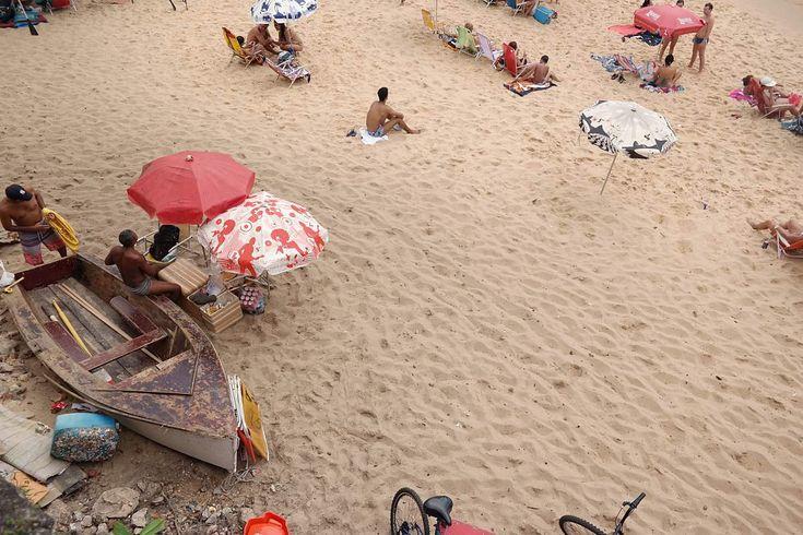 Am Strand in Rio