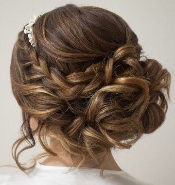 Stupendous 1000 Ideas About Quinceanera Hairstyles On Pinterest Quince Short Hairstyles For Black Women Fulllsitofus
