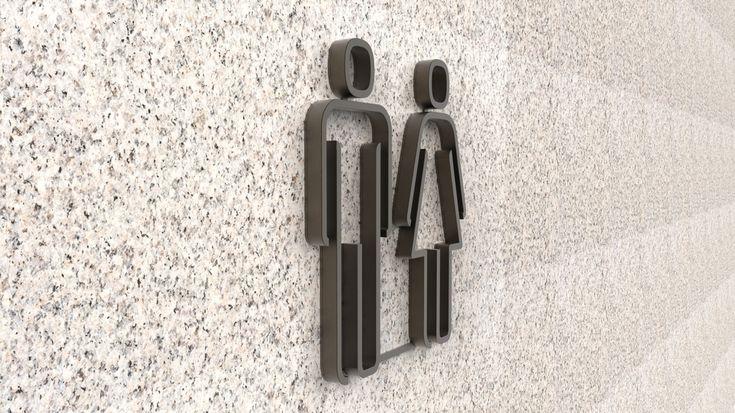 Bathroom symbols - by ID Lab