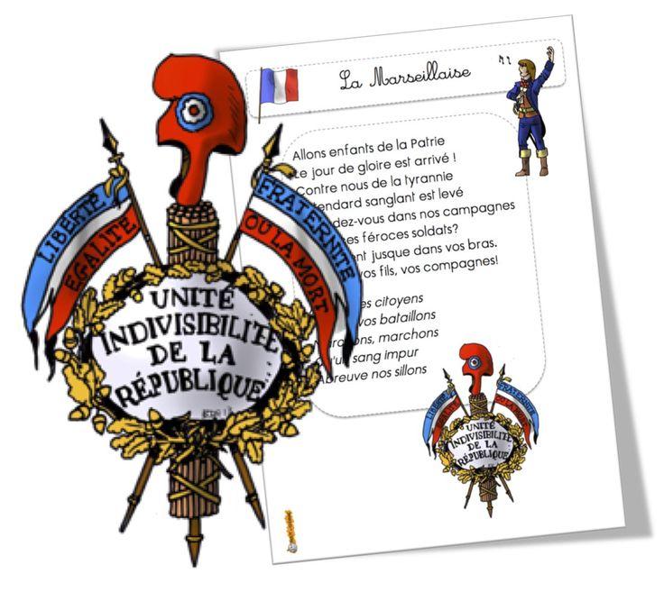 L'hymne national de la France : La Marseillaise | Bout de Gomme