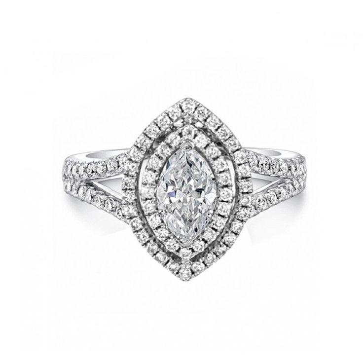 1.25 Marquise cut #diamond for $2,331 on diamondhedge.com today!
