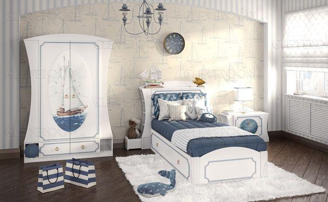 раскраска мальчика комната детская для