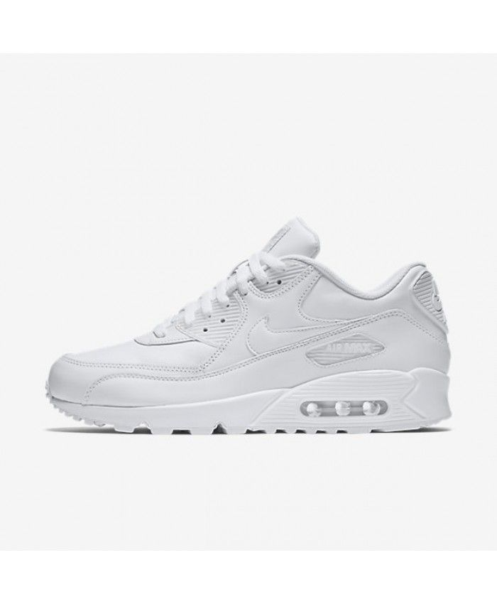 Nike Air Max 90 Leather True White True White 302519 113