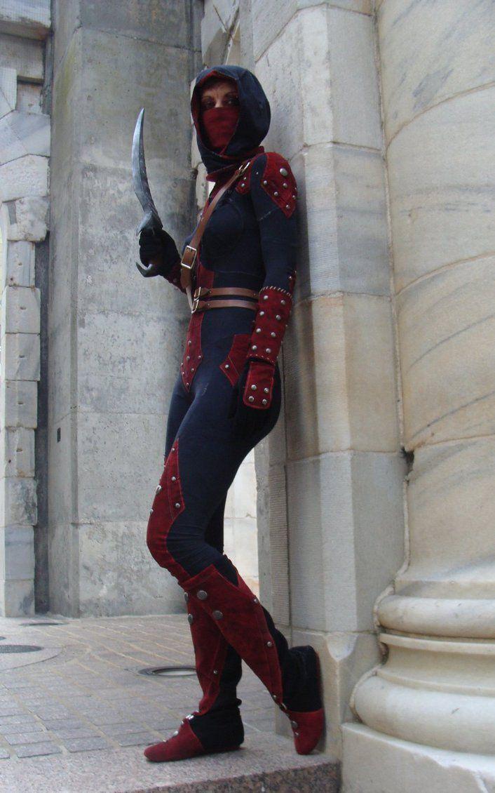 Dark Brotherhood cosplay. Wicked.