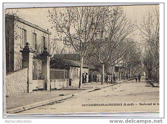 13 - CHATEAURENARD : BD DE LA GARE. - Chateaurenard