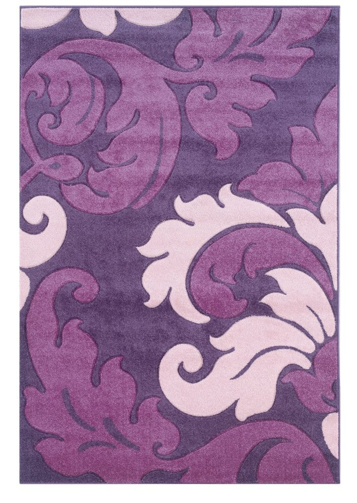 Purple Rugs | ... Corfu Cu09 Purple / Baby Pink Machine Woven, Good