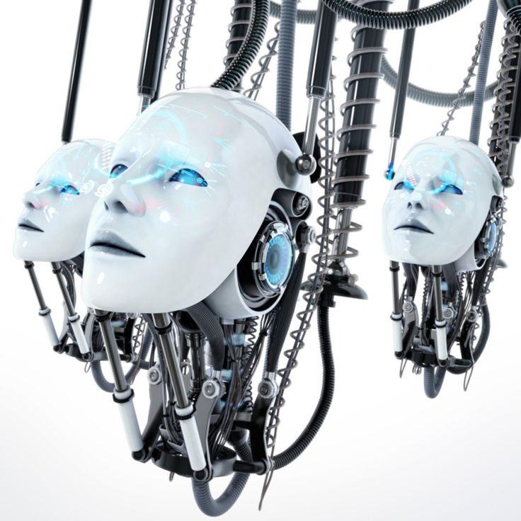 futuristic, androids, robots, future, cyberpunk, wizard ideas (Simon Kemper, 2013)