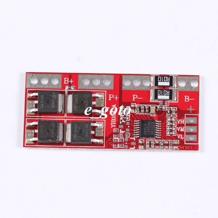 4 S 30A Arus Tinggi Li-ion Baterai Lithium 18650 Charger Perlindungan Papan Modul 14.4 V 14.8 V 16.8 V Overcharge lebih dari Sirkuit Pendek