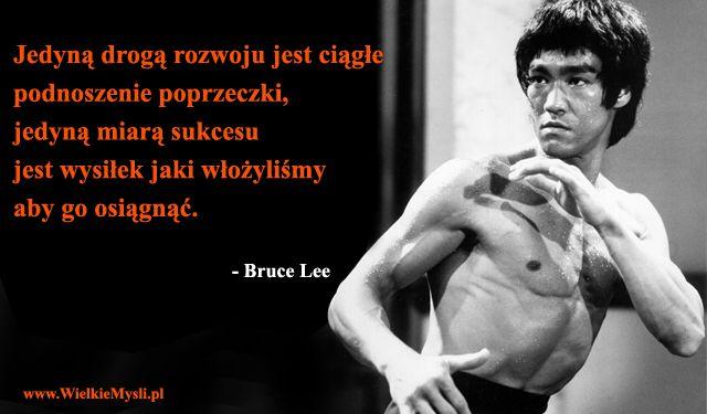 Bruce-Lee-poprzeczka / WielkieMysli.pl