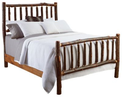 Fireside Lodge Furniture Hickory Bedroom Collection Traditional Bed   King