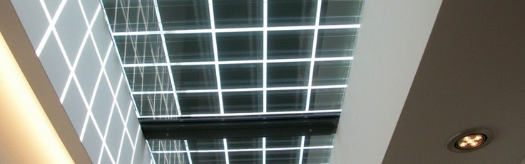 walkable glass with integrated PV cells for maximum daylight
