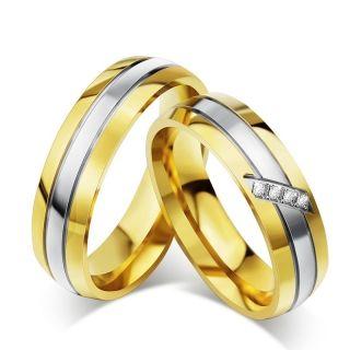 Snubní prsteny chirurgická ocel R-M4041