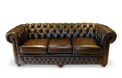 Leather Chesterfield Sofa Bed | Traditional Classic | The Durham