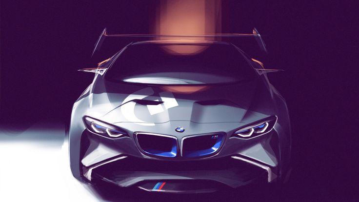 BMW Concept Car Vision Car Wallpaper - http://www.gbwallpapers.com/bmw-concept-car-vision-car-wallpaper/ (Bmw, Car, Concept, Vision Car, Wallpaper / Cars)