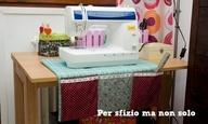 Per sfizio ma non solo: Cucito creativo - copri macchina da cucire con tasche imbottito