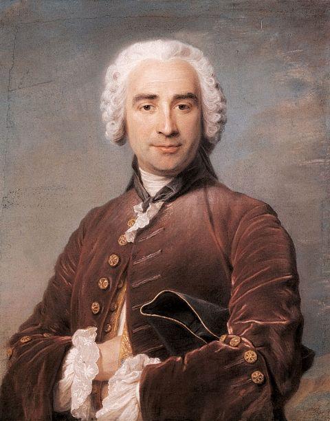 Portrait of a Man,c.1760, by Maurice Quentin de la Tour (1704-1788)