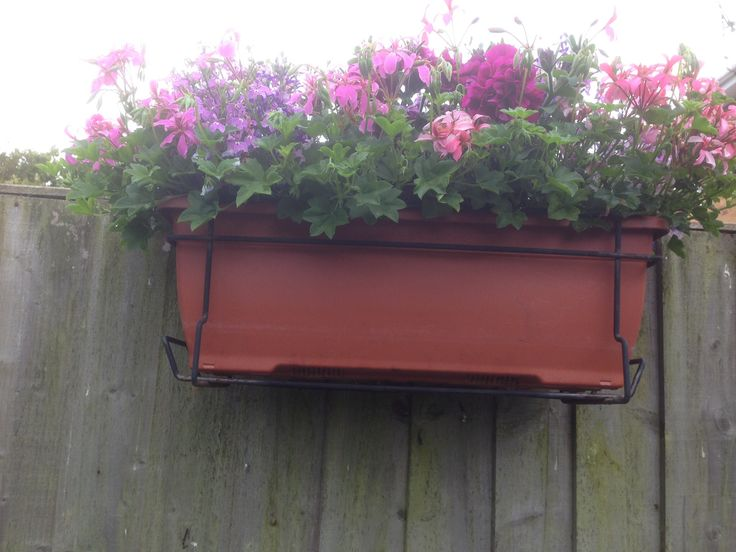 Another of my fence troughs