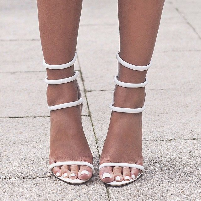 1000  ideas about White Strappy Heels on Pinterest  African print