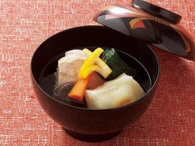斉藤家の雑煮