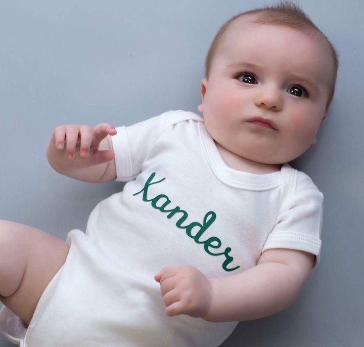 Personalised Baby Onesie custom baby vest new baby gift newborn gift set