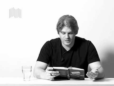 """Jürgen Schmieder - """"Du sollst nicht lügen"""" - C.Bertelsmann Jürgen Schmieder liest aus seinem originellen Erfahrungsbericht über den einzigartigen Selbstversuch, 40 Tage lang die Wahrheit zu sagen."""