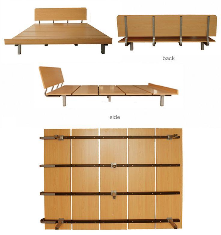 Ikea del medio ambiente simple cama tatami cama placa 1 5 - Somier japones ...