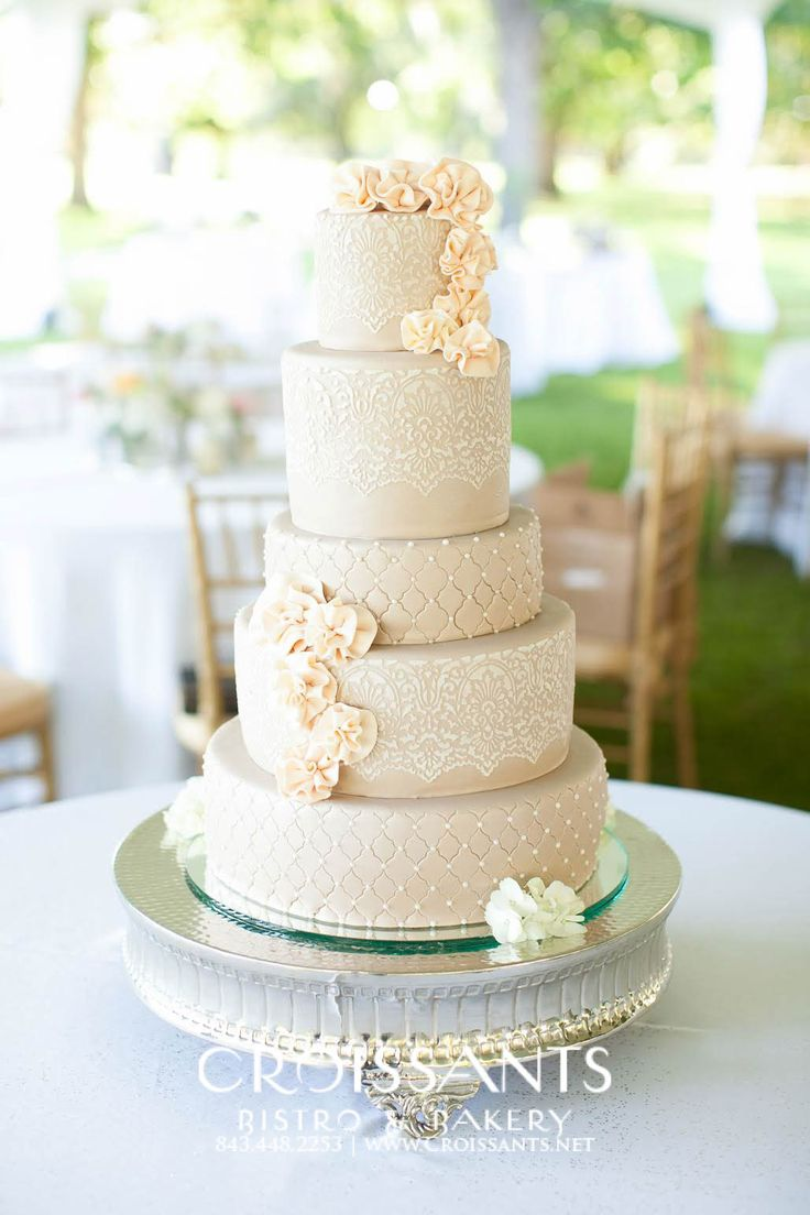 Contemporary Wedding Cakes Pinterest