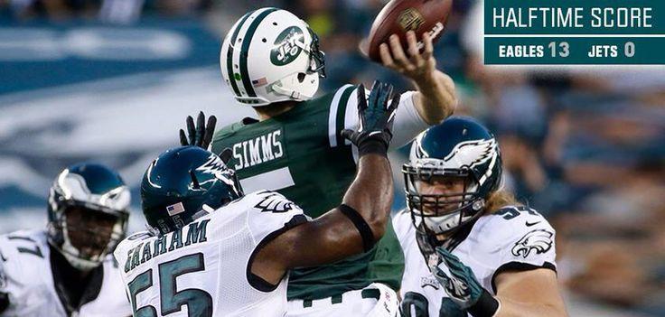 Philadelphia Eagles week 4 preseason beats Jets 37 to 7