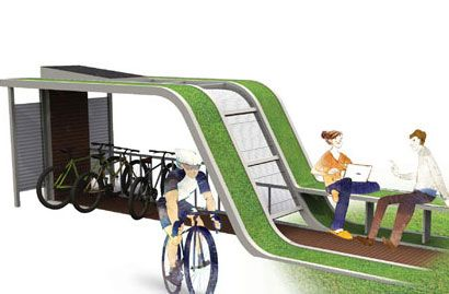 Econology Life Bicycle Shelter – Hi-Tech, Yet Eco-Friendly