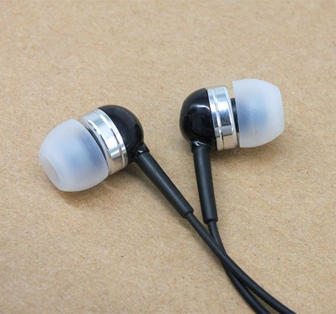 Mobile phone Microphone voice earphone heavy bass music earplug with Mic 3.5 mm In ear Earbuds headset