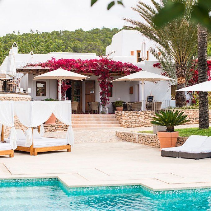Enveloped by thick pine forest and ancient almond and olive trees, Ibiza boutique hotel @canllucibiza is a haven of tranquility set just outside the charming village of San Rafael.