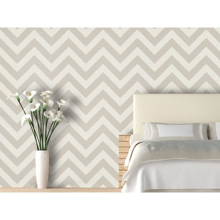 Removable Chevron wall
