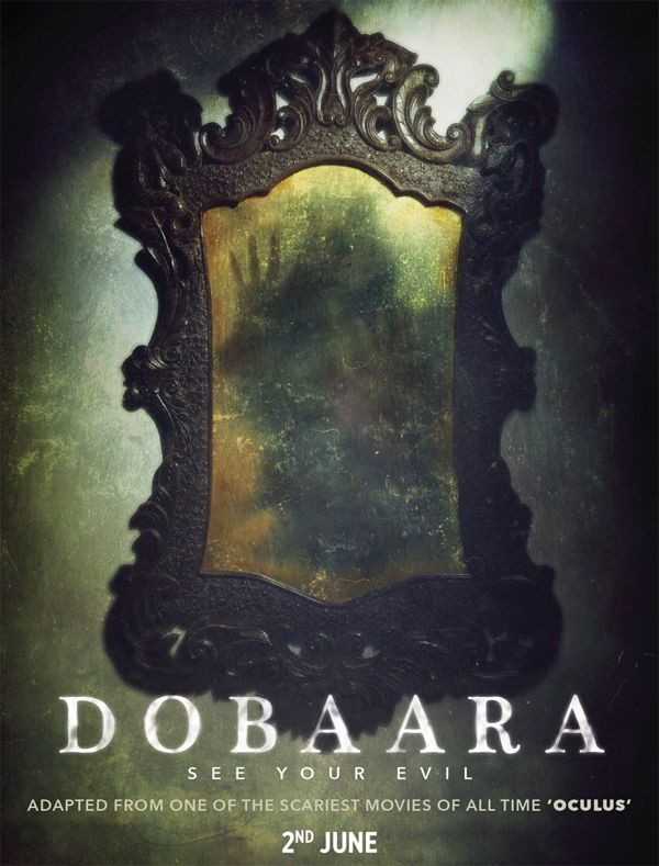 Dobaara motion poster: Saqib Saleem and Huma Qureshi's film retains the spookiness of the haunted mirror from Oculus #FansnStars