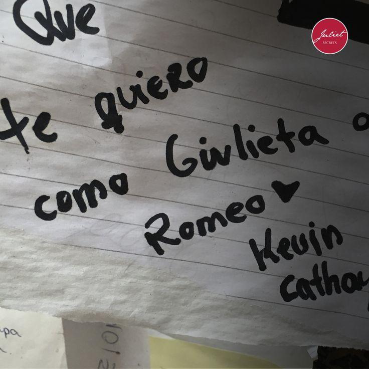Te quiero como Giulieta a Romeo. #julietsecrets #julietwall #casadigiulietta #juliethouse @julietsecrets